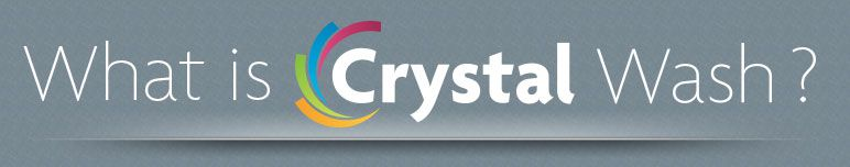 what is crystal wash